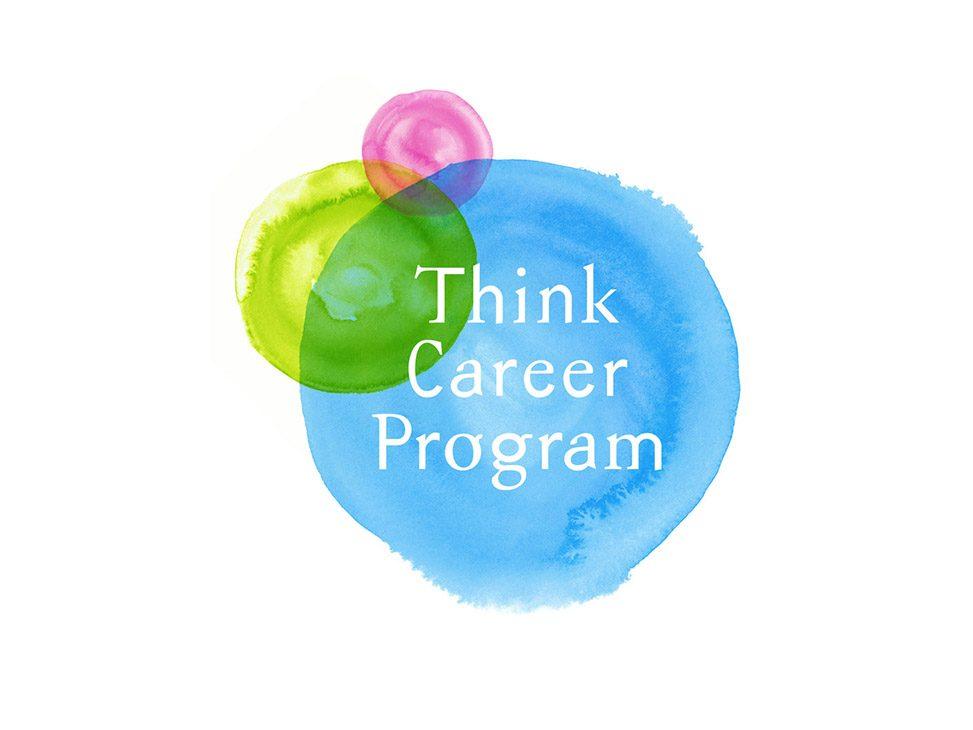 NTTコミュニケーションズ 「Think Career Program」ロゴマーク、ポスター