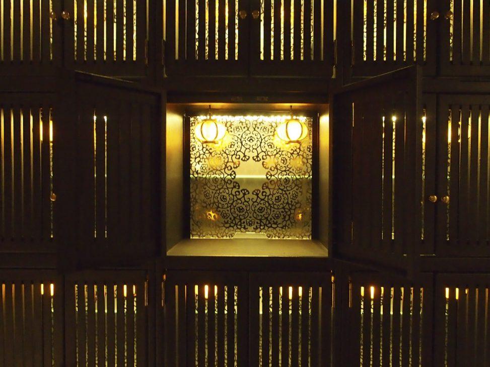 竹林寺 納骨堂 仕切板